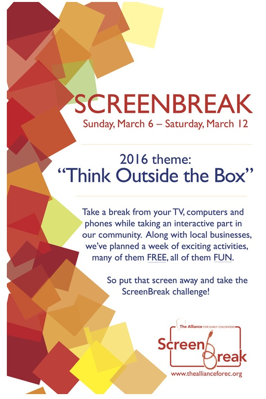 Screen Break Week 2016