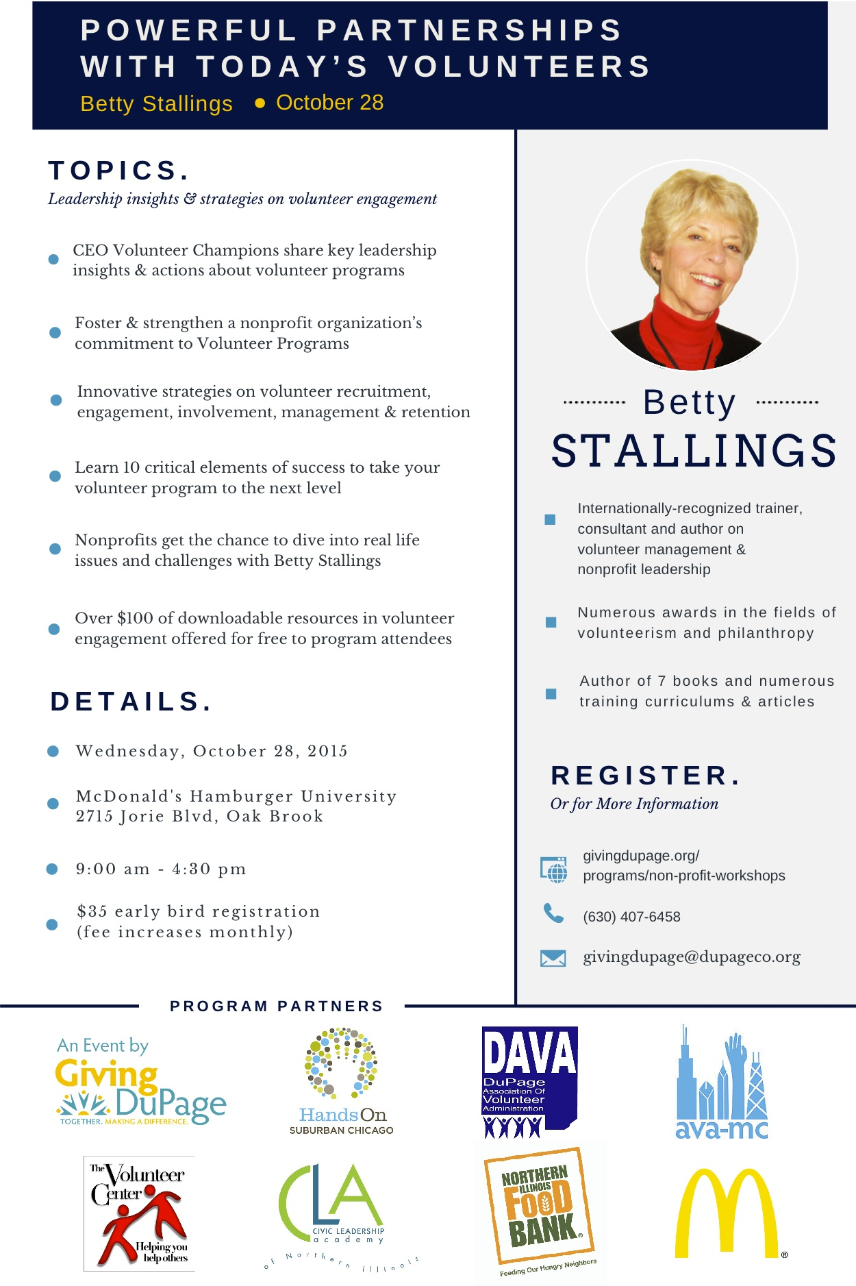 Betty Stallings Flyer