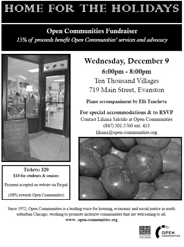 Open Communities Holiday Event
